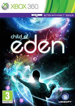 Child of Eden Xbox 360 Cover Art