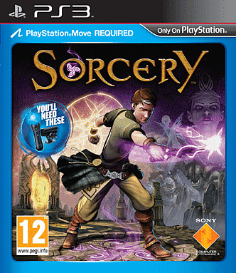 Your PlayStation Move becoems a magic wand in Sorcery on PlayStation 3 at GAME