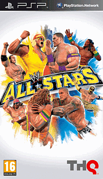 WWE All Stars PSP Cover Art