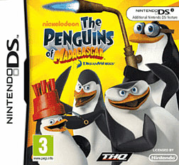 The Penguins of Madagascar DSi and DS Lite Cover Art