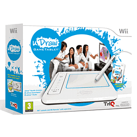 uDraw: Game Tablet with uDraw Studio Nintendo Wii Cover Art