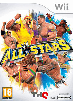 WWE All Stars Wii Cover Art