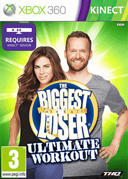 The Biggest Loser: The Ultimate Workout Xbox 360 Kinect Cover Art