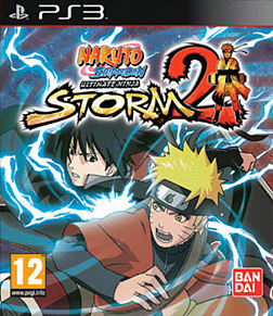 Naruto Shippuden: Ultimate Ninja Storm 2 PlayStation 3 Cover Art
