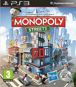 Monopoly Streets PlayStation 3 Cover Art