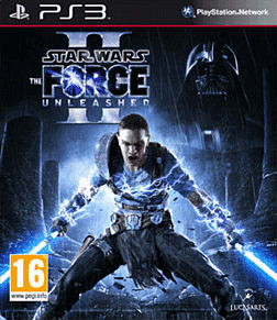 Star Wars: The Force Unleashed 2 PlayStation 3 Cover Art