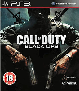 Call of Duty: Black Ops PlayStation 3 Cover Art