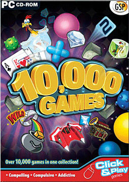 10,000 Games PC Games and Downloads Cover Art