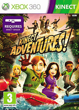 Kinect Adventures Xbox 360 Kinect Cover Art