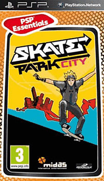 Skate Park City (PSP Essentials) PSP Cover Art