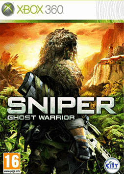 Sniper: Ghost Warrior Xbox 360 Cover Art