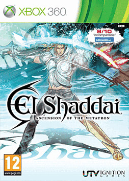 El Shaddai: Ascension of the Metatron Xbox 360 Cover Art