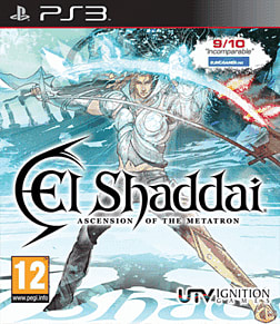 El Shaddai: Ascension of the Metatron PlayStation 3 Cover Art