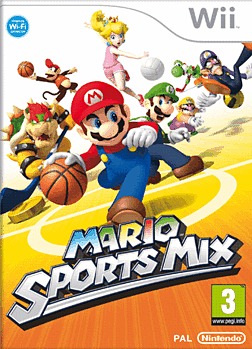 Mario Sports Mix Wii Cover Art