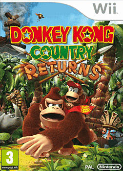 Donkey Kong Country Returns Wii Cover Art