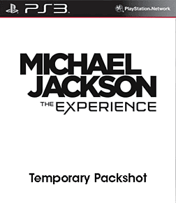 Michael Jackson: The Experience (Move compatible) PlayStation 3 Cover Art