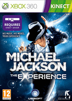 Michael Jackson: The Experience (Kinect compatible) Xbox 360 Kinect Cover Art