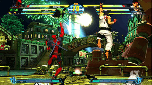 Marvel vs Capcom 3 Fate of Two Worlds on PlayStation 3 and Xbox 360