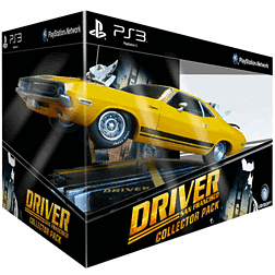 Driver San Francisco Collectors Pack Sony PS3 Cover Art