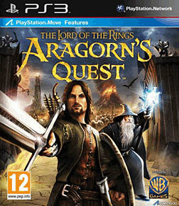 Lord of the Rings: Aragorn's Quest PlayStation 3 Cover Art