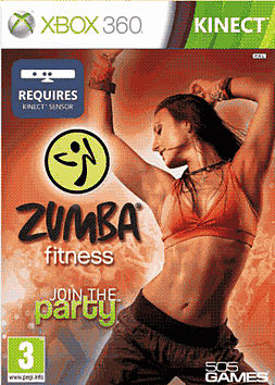 Zumba Fitness Xbox 360 Kinect Cover Art