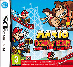 Mario Vs Donkey Kong: Mini Mainland DSi and DS Lite Cover Art