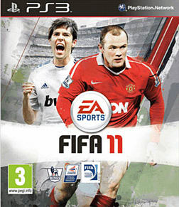 FIFA 11 PlayStation 3 Cover Art
