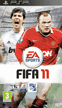FIFA 11 PSP Cover Art