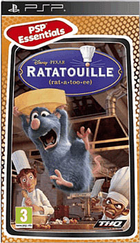 Ratatouille (PSP Essentials) PSP Cover Art