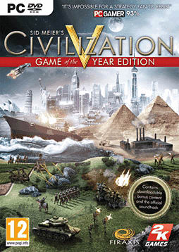Civilization V - Game Of The Year Edition PC Games and Downloads Cover Art