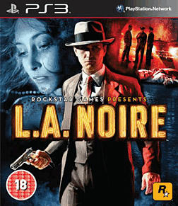 L.A. Noire PlayStation 3 Cover Art
