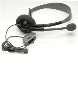 Xbox 360 Headset: Black Accessories