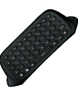 Xbox 360 Chat Pad Black Accessories