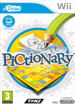 uDraw Pictionary Wii Cover Art