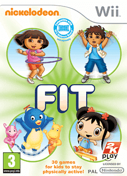 Nickelodeon Fit Wii Cover Art