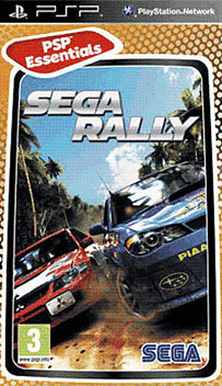 Sega Rally (PSP Essentials) PSP Cover Art