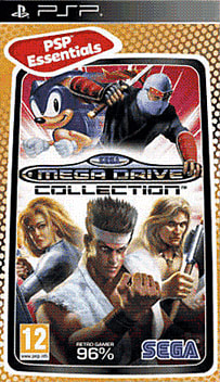 Sega Mega Drive Collection (PSP Essentials) PSP Cover Art