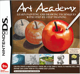 Art Academy DSi and DS Lite Cover Art