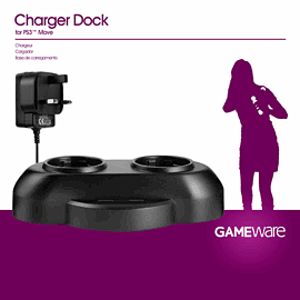 GAMEware PS3 Move Dual Charger Accessories