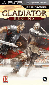 Gladiator Begins PSP Cover Art