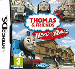 Thomas & Friends: Hero of the Rails DSi and DS Lite Cover Art