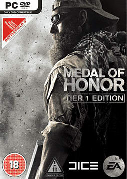 Medal of Honor Limited Tier 1 Edition PC Games and Downloads Cover Art