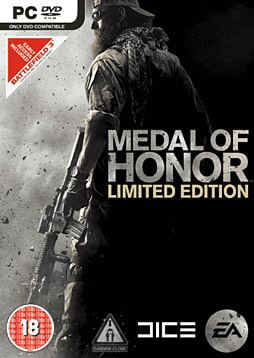 Medal of Honor Limited Edition PC Games Cover Art