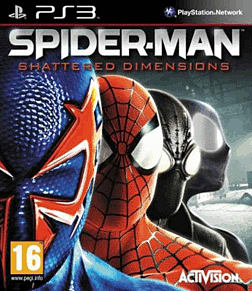 Spiderman: Shattered Dimensions PlayStation 3 Cover Art