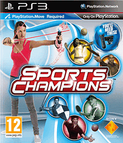 Sports Champions: Move PlayStation 3 Cover Art