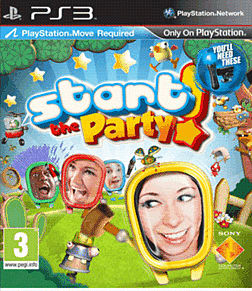Start the Party: Move PlayStation 3 Cover Art