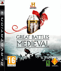 HISTORY: Great Battles Medieval PlayStation 3 Cover Art