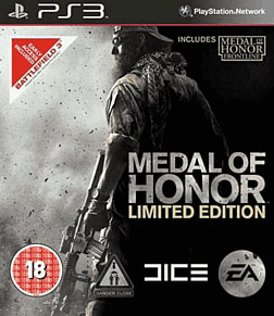 Medal of Honor Limited Edition PlayStation 3 Cover Art