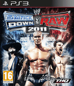 WWE Smackdown vs Raw 2011 PlayStation 3 Cover Art