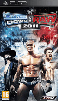 WWE Smackdown vs Raw 2011 PSP Cover Art